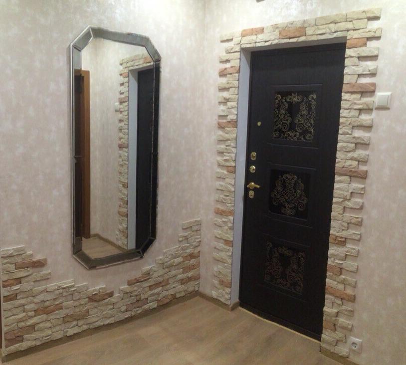 оформленная дверь